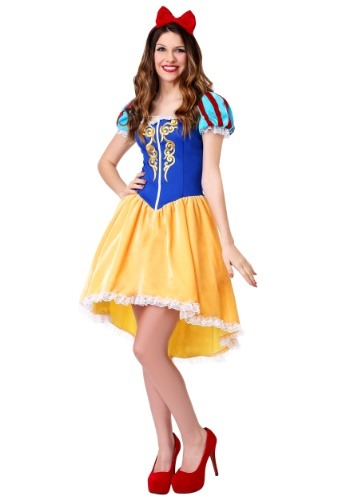 Womens Plus Size Ravishing Snow White Costume