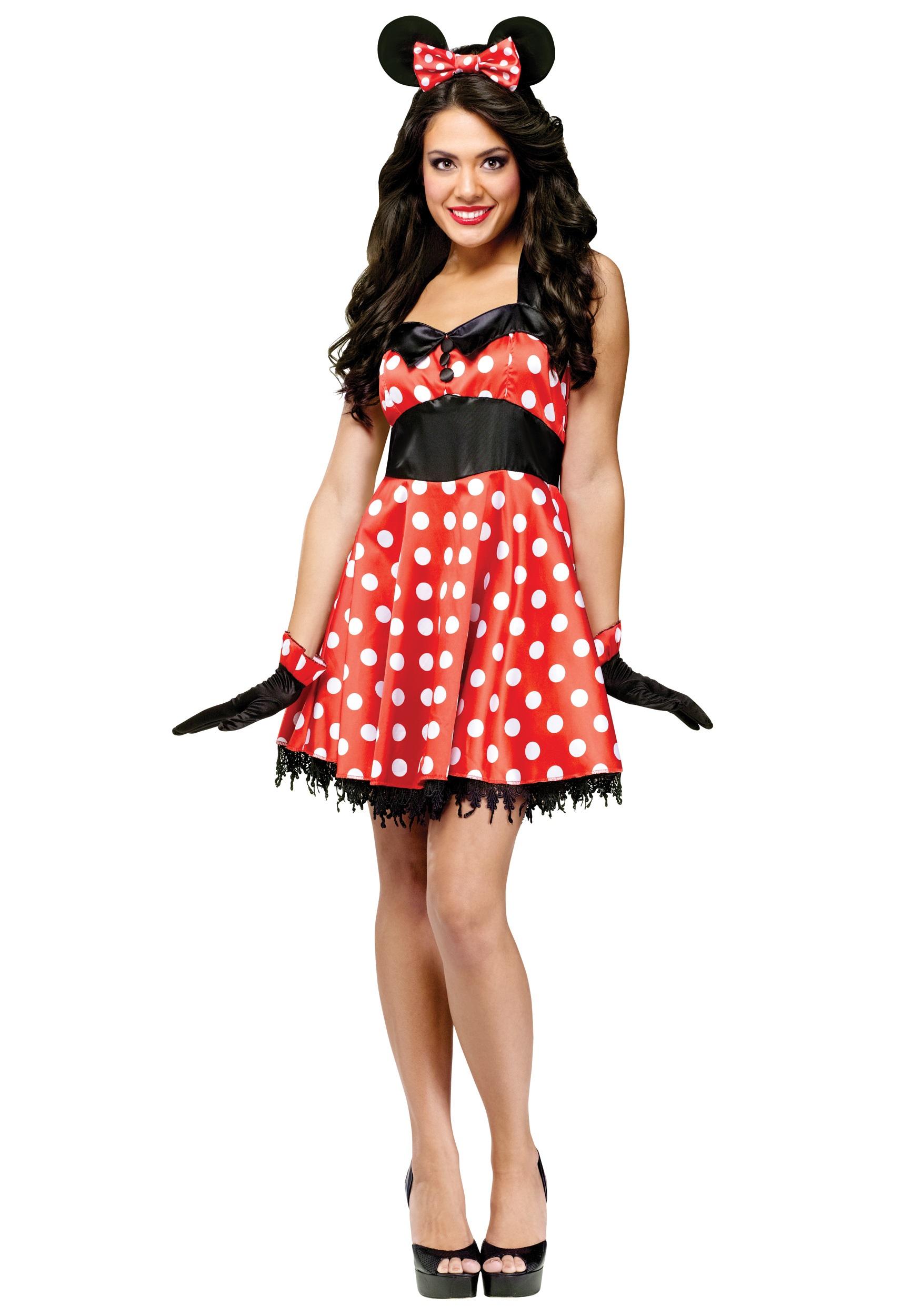 sc 1 st  Halloween Costumes CA & Retro Miss Mouse Costume