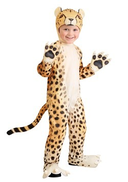 Toddler Cheerful Cheetah Costume