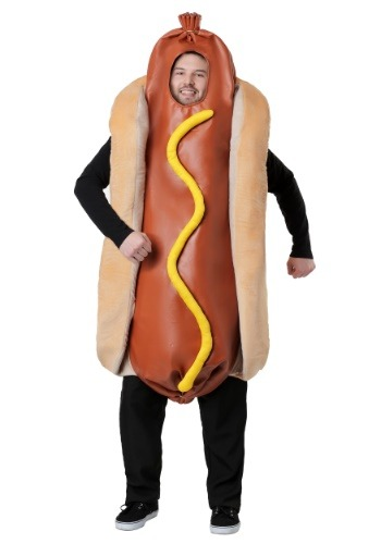 Adult Hot Dog Costume | Fast Food Halloween Costumes