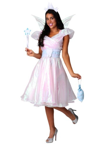 Click Here to buy Womens Plus Size Tooth Fairy Costume from HalloweenCostumes, CDN Funds & Shipping
