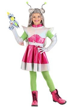 Girl's Outer Space Cutie Costume