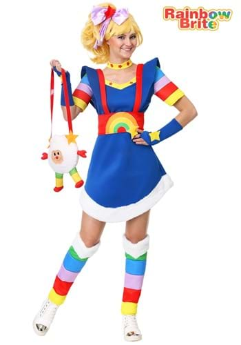 Women's Rainbow Brite Costume