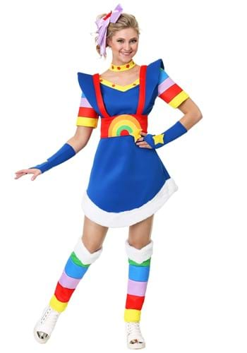 Click Here to buy Rainbow Brite Womens Costume from HalloweenCostumes, CDN Funds & Shipping