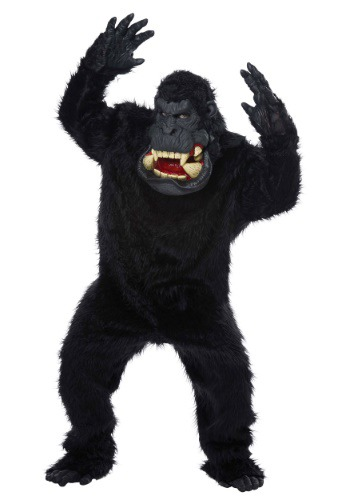 Click Here to buy Goin Bananas! Gorilla Costume for Adults from HalloweenCostumes, CDN Funds & Shipping
