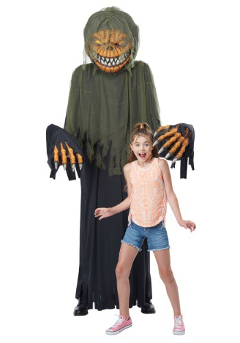 Towering Terror Pumpkin Costume for Adults