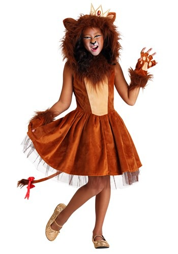 A-ROAR-able Lion Girl's Costume