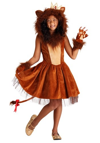 Girls A-ROAR-able Lion Costume