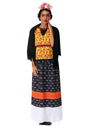 Frida Kahlo Womens Plus Size Costume