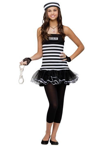 Teen Guilty Prisoner Costume