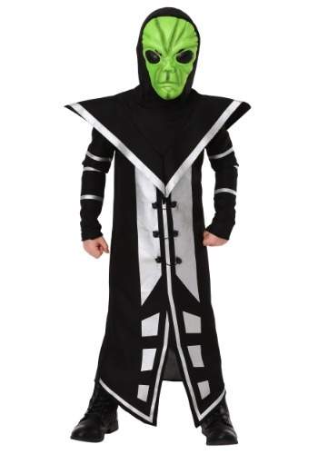Alien Assassin Costume For Boys
