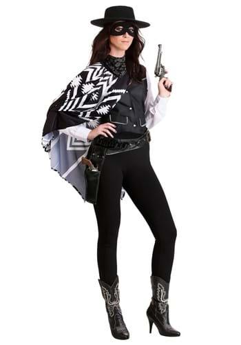 Women's Plus Size Bad Bandit Costume