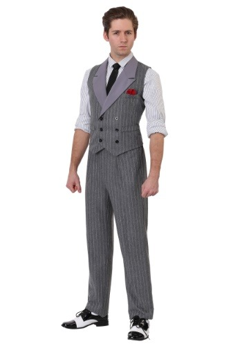 Ruthless Gangster Mens Costume
