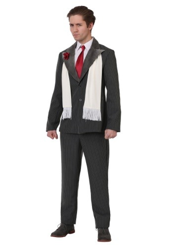 Click Here to buy Plus Size Vicious Gangster Mens Costume from HalloweenCostumes, CDN Funds & Shipping