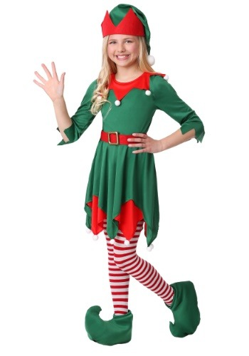 Click Here to buy Girls Santas Helper Costume from HalloweenCostumes, CDN Funds & Shipping