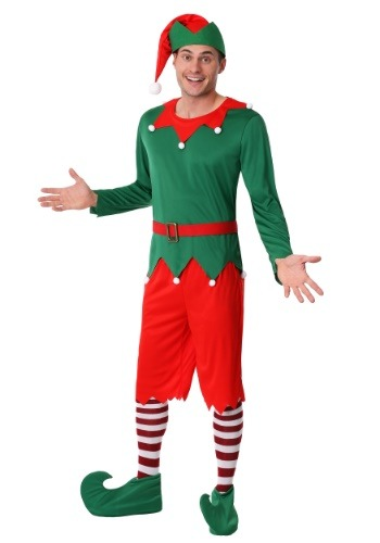 Click Here to buy Mens Plus Size Santas Helper Costume from HalloweenCostumes, CDN Funds & Shipping