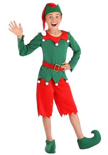Click Here to buy Boys Santas Helper Costume from HalloweenCostumes, CDN Funds & Shipping