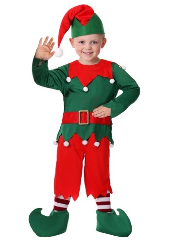 Click Here to buy Toddler Boys Santas Helper Costume from HalloweenCostumes, CDN Funds & Shipping