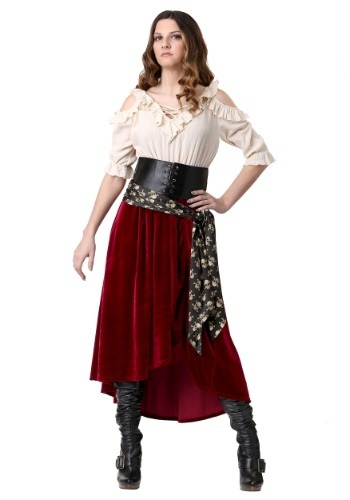 Roving Buccaneer Costume for Plus Size Women