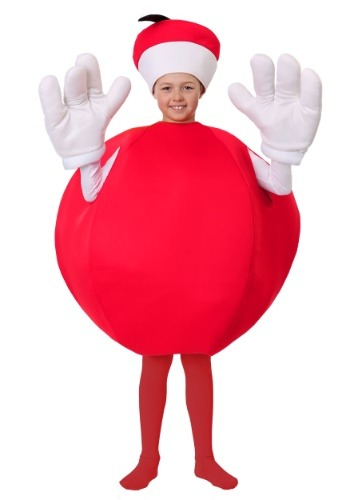 Click Here to buy Kids Apple Costume from HalloweenCostumes, CDN Funds & Shipping