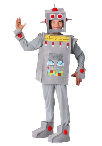 Robot Rascal Costume For Kids