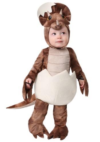 Infant Tiny Triceratops Costume