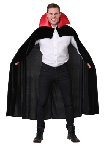 Adult Red Vampire Costume Cloak