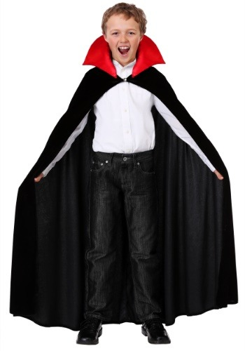 Click Here to buy Red Collar Vampire Cloak Costume for a Kids from HalloweenCostumes, CDN Funds & Shipping