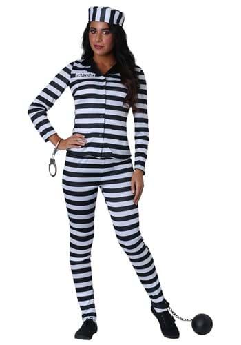 Women's Plus Size Incarcerated Cutie Costume