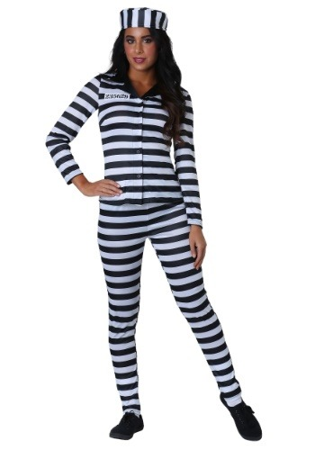 Click Here to buy Plus Size Incarcerated Cutie Womens Costume from HalloweenCostumes, CDN Funds & Shipping