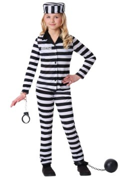 Girl's Incarcerated Cutie Costume