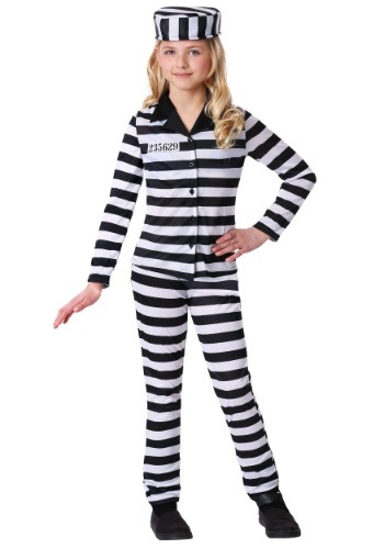 Incarcerated Cutie Costume for Girls