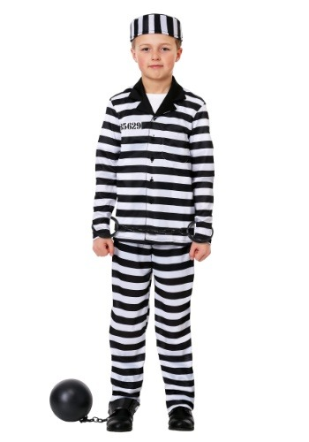 Boy's Jailbird Costume