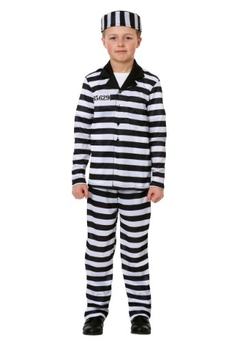 Jailbird Costume for Boys