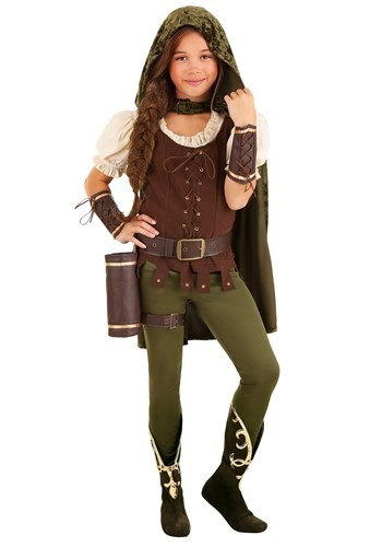 Click Here to buy Robin Hood Girls Costume from HalloweenCostumes, CDN Funds & Shipping