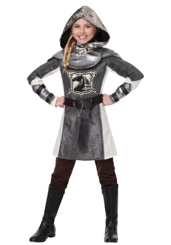 Click Here to buy Medieval Knight Costume For Girls from HalloweenCostumes, CDN Funds & Shipping