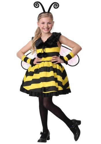 Girl's Deluxe Bumble Bee Costume