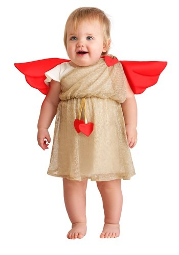 Click Here to buy Cupid Costume for Babys from HalloweenCostumes, CDN Funds & Shipping