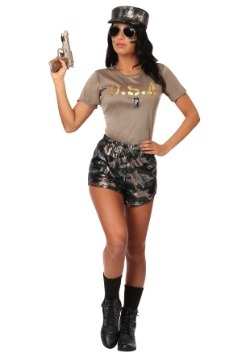 Women's Boot Camp Babe Costume