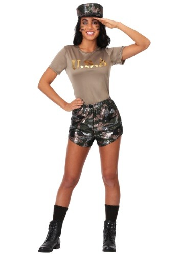 Boot Camp Babe Womens Costume