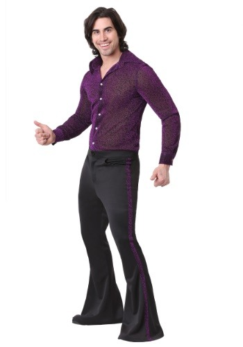 Click Here to buy Dazzling Disco Dude Mens Costume from HalloweenCostumes, CDN Funds & Shipping