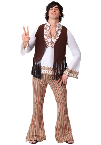 Mens Woodstock Hippie Costume