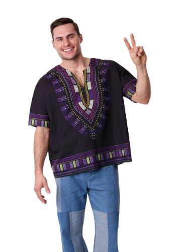 Mens Hazy Hippie Costume