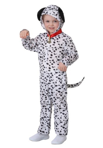 Delightful Dalmatian Costume for a Toddler