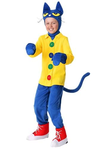 Click Here to buy Pete the Cat Kids Costume from HalloweenCostumes, CDN Funds & Shipping