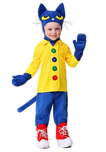 Pete the Cat Toddlers Costume | Storybook Character Costume