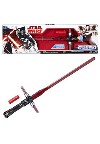 Click Here to buy Star Wars: The Last Jedi Kylo Ren Electronic Lightsaber from HalloweenCostumes, CDN Funds & Shipping