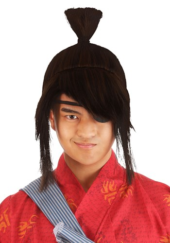 Click Here to buy Kubo Wig for Adults from HalloweenCostumes, CDN Funds & Shipping