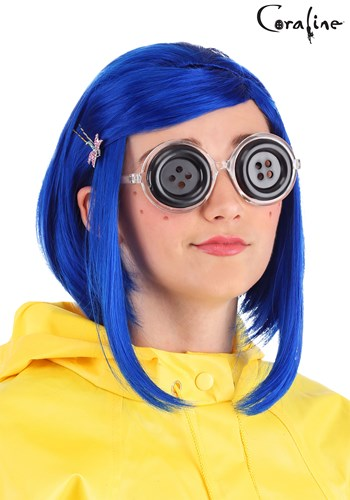 Coraline Button Eyes Glasses