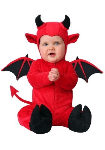 Click Here to buy Baby Adorable Devil Costume from HalloweenCostumes, CDN Funds & Shipping